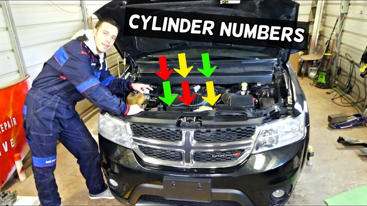 dodge journey cylinder numbers numbering 3.6 v6 fiat freemont - youtube  youtube