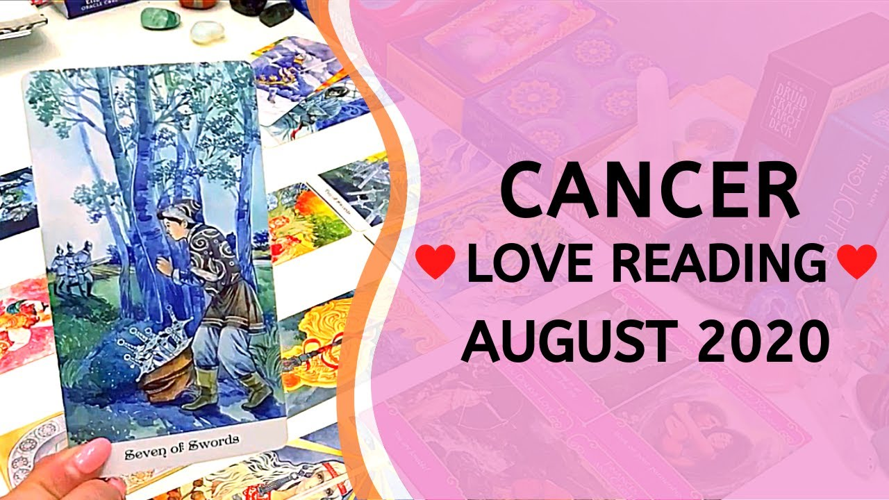 CANCER ❤️ Overcoming the Obstacles ~ Love Tarot Reading August 2020