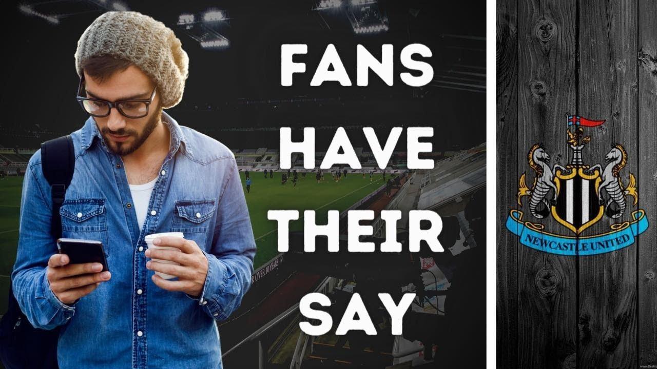 LIVE Fan Reaction Show   Newcastle United - Sheffield United