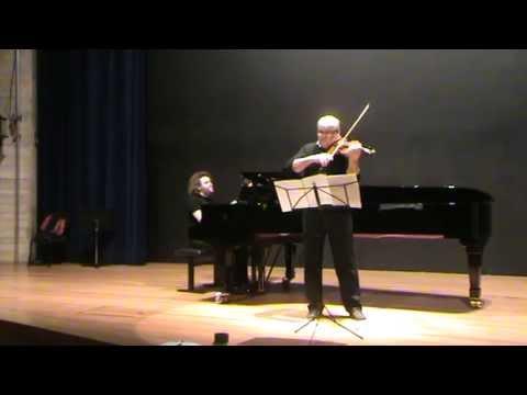 J.Brahms  -  Scherzo c-minor  -  Adam Kostecki (vl)  &  Gintaras Janusevicius (pn)