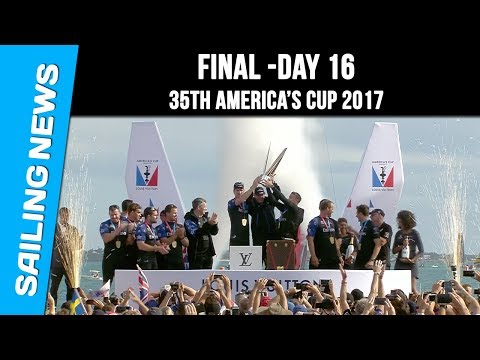 America's Cup 2017 - Final - Day 16