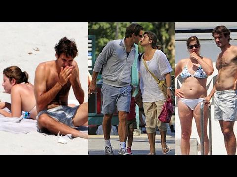Roger Federer ।  Roger Federer's Wife  [ Mirka Federer ] 2017