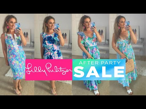 LILLY PULLITZER AFTER PARTY SALE HAUL – 2020