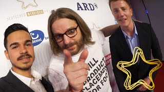 WEBVIDEOPREIS 2015 + Aftershowparty mit Gronkh, Dner, Unge uvm. | VLOG