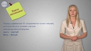 Русский язык 7 класс Гласные в суффиксах