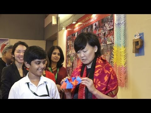 Japan first lady Akie Abe visit Ahmadabad