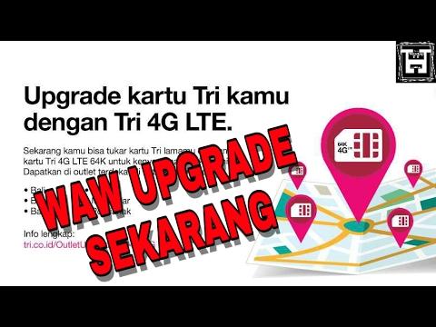 Cara MUDAH UPGRADE dari 3G ke 4G LTE Pada Kartu 3 (TRI)