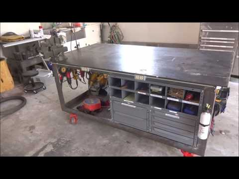 Welding Table, Workbench and Tool Storage