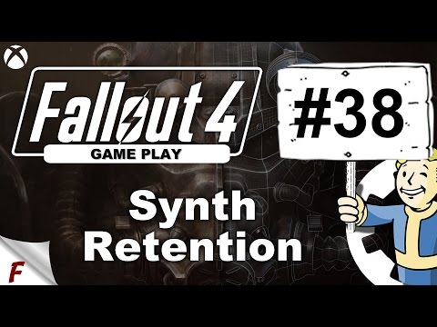 Fallout 4 Series. The Search For Shaun. #38  Synth Retention. Quest Gameplay, Walkthrough