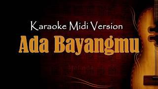ada bayangmu - Melinda   Karaoke Dangdut Version Keyboard + Lirik tanpa vokal