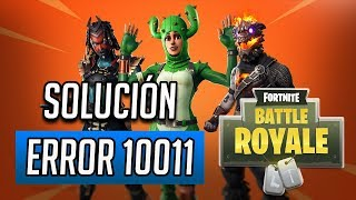 Easy Anti-Cheat Error 10011 Solution at Fortnite Battle Royale
