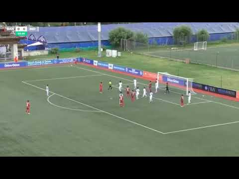 India U18 vs Bangladesh U18 SAFF Championship full match