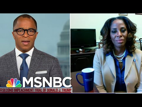 Rep. Plaskett Says Impeachment Trial Needed 'More Senator With Spines' Not More Witnesses   MSNBC