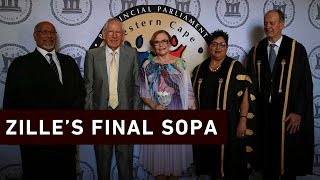 Outgoing Western Cape Premier Helen Zille has delivered her last State of the Province Address.  Click here to subscribe to Eyewitness news:http://bit.ly/EWNSubscribe  Like and follow us on:http://bit.ly/EWNFacebook ANDhttps://twitter.com/ewnupdates  Read full article on Eyewitness news: https://ewn.co.za/2019/02/15/helen-zille-reflects-on-last-two-terms-as-she-delivers-last-sopa  Keep up to date with all your local and international news:www.ewn.co.za  Produced by:  Cindy Archillies