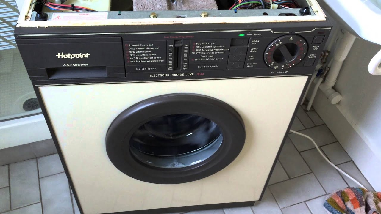 Hotpoint 9544 Electronic 1000 Deluxe