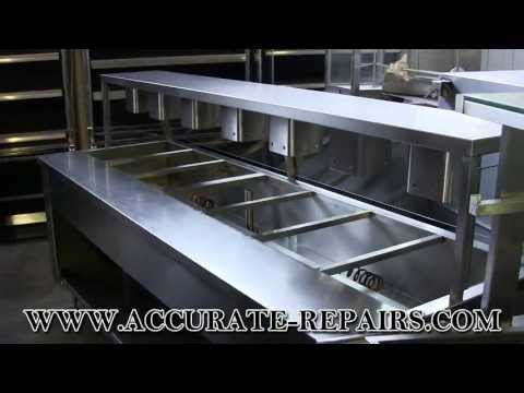 7 Well Electric Steam Table - Refurbished