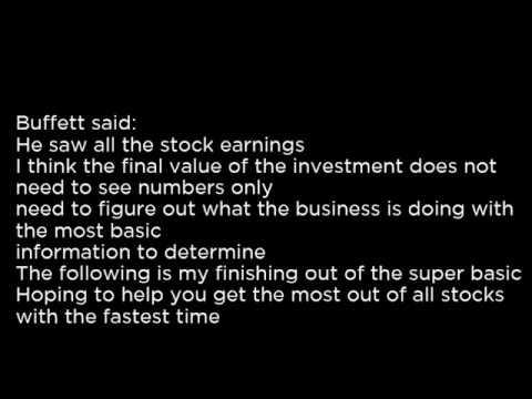NRCIA - National Research Corporation NRCIA buy or sell Buffett read basic