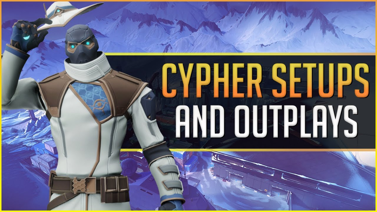 Download INSANE Cypher Setups and Outplays from the Cypher Setup King - 200 IQ Setups - Valorant