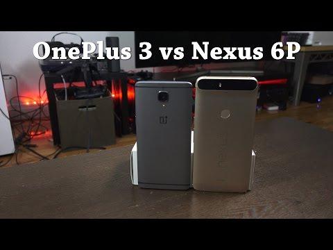 OnePlus 3 vs Nexus 6P: Best Android-Fanboy Smartphone???