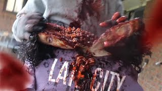 VIOLENT Zombie Fatalities (Watch before removed!) 18+