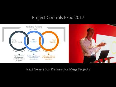 """Next Generation Planning for Mega Projects by"""" Dr. Dan Patterson """"at PCE 2017"""