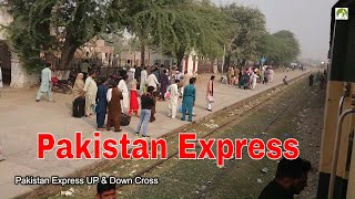 Train Journey Pakistan Sangla Hill to Wazirabad Railroad Travel in Central Punjab