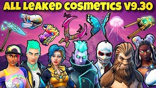 *NEW* ALL LEAKED SKINS, BACK BLINGS, WRAPS, GLIDER & PICKAXES! Fortnite Battle Royale - v9.30 LEAKS