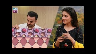 "Faysal Qureshi,Waseem Badami,Madiha,Uzma & Faizan playing ""Ab To Peena Paray Ga"""