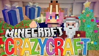 Pranks & Presents! | Ep 21 | Minecraft Crazy Craft 3.0