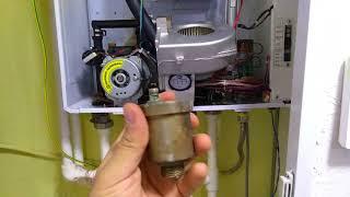 Daewoo Gasboiler 100msc котел 2 контурный замена воздуха отводчика