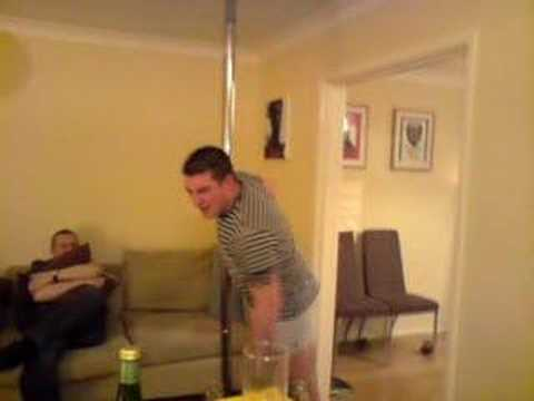 Greg Pickett Pole Dancer Extraordinaire