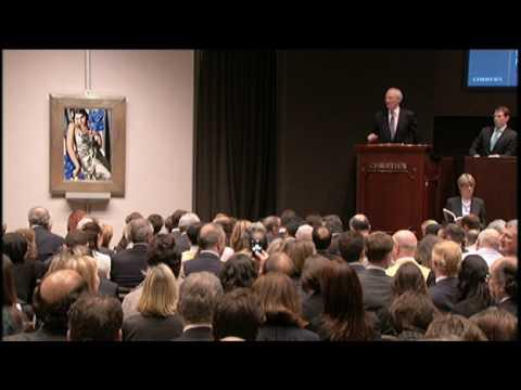 Tamara de Lempicka's 'Portrait de Madame M.'   2009 World Auction Result