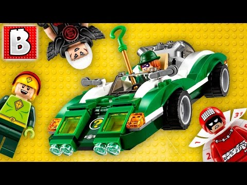 LEGO Batman Movie The Riddler Riddle Racer 70903 Live Build