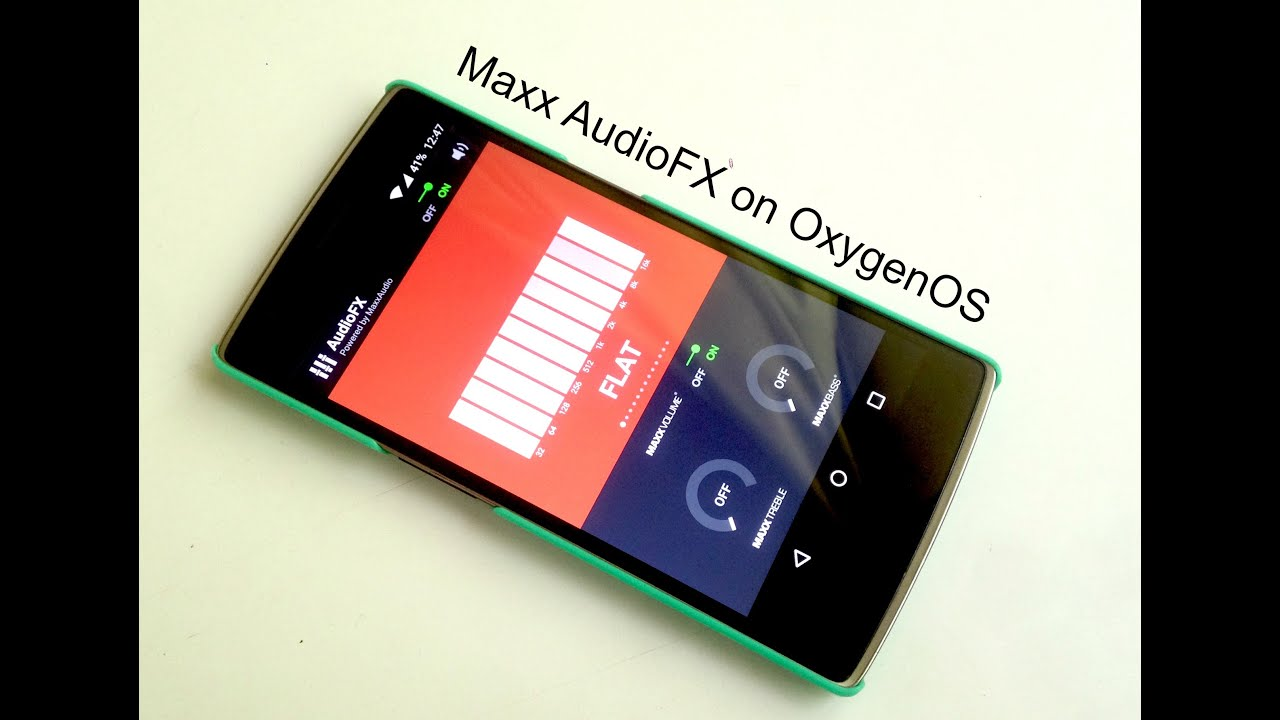 How to get Maxx Audio FX on OxygenOS