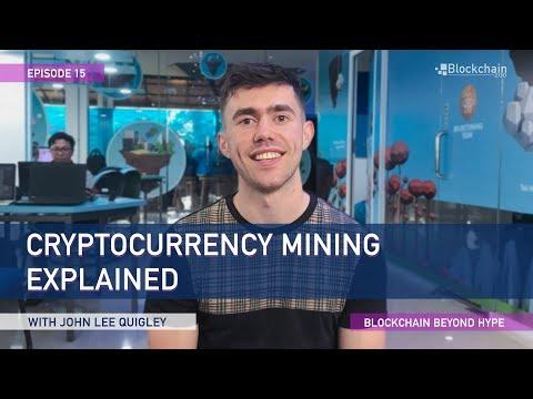 cryptocurrency mining explained
