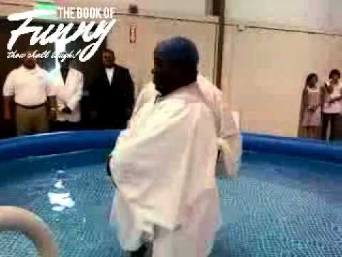 Ohh Lord, Watch This Baptism Gone Wrong...
