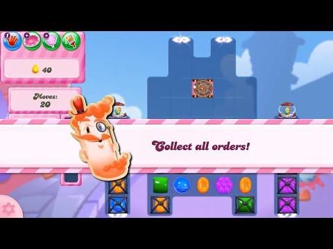 Candy Crush Saga Level 2834 NO BOOSTERS