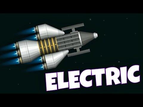 Electric Spaceship // Spaceflight Simulator