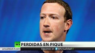 La peor pérdida para una empresa en un día: Facebook cae 119.000 millones en valor de mercado