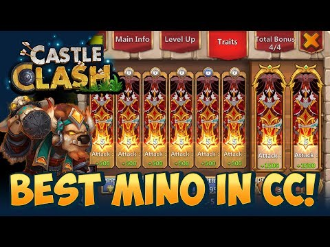 BEST Minotaur In Castle Clash INSANE Video