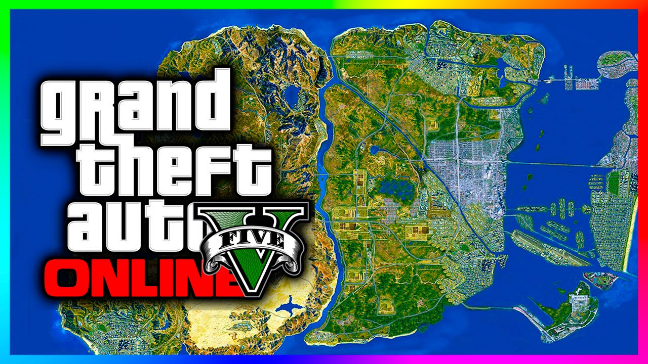 Incredible GTA 5 Expansion Concept Map Featuring Vice City Remake