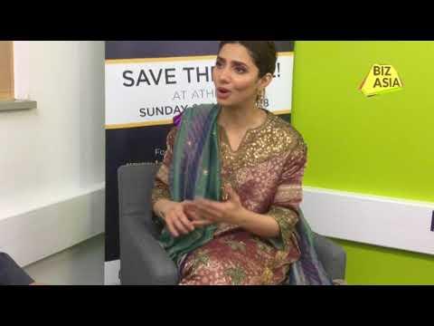 Mahira Khan speaks to Raj Baddhan at UK Asian Film Festival 2018