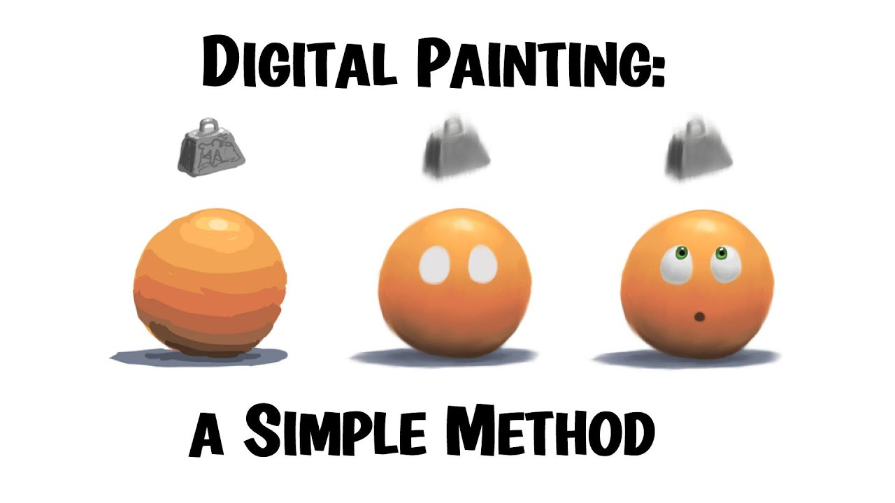 Digital Painting  A Simple Method for Beginners and Maybe