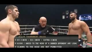 فیلم کامل مسابقه نیمه نهایی تورنومنت ریزین بین امیر علی اکبری از ایران و والنتین مولدافسکی از روسیه