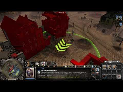 Company of Heroes 2 : Gameplay, Oberkommando West with Luftwaffe Ground 2v2