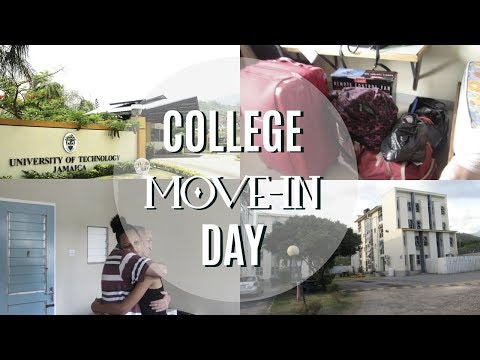 COLLEGE MOVE IN DAY 2017 | UNIVERSITY OF TECHNOLOGY, JAMAICA