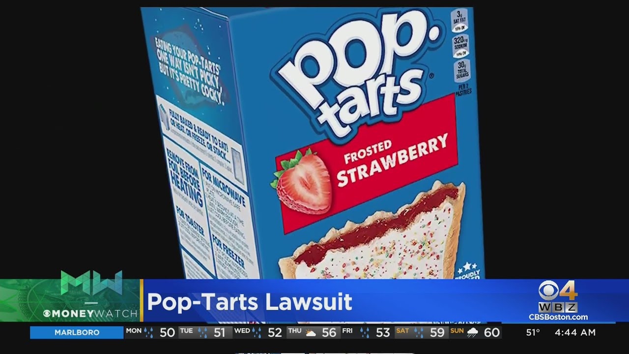 Why is Kellogg's Getting Sued Over Its Strawberry Pop-Tarts?