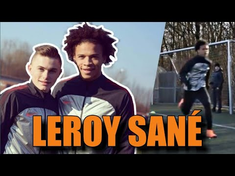 Training mit LEROY SANE! Schnellster Spieler der Premier League!😱🔥