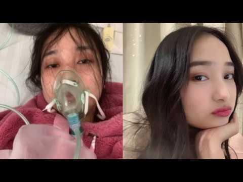 Wuhan girl in hospital revealed how poor coronavirus treatment in China   (translate ps turn on  CC)