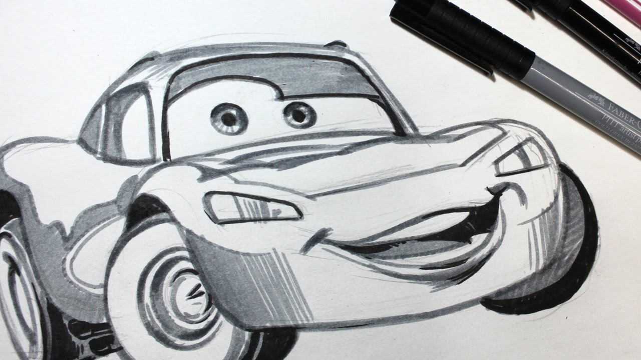 Cars 3 Timelapse Drawing
